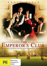 The Emperor's Club DVD=Kevin Klein=REGION 4 AUSTRALIAN RELEASE= NEW AND SEALED