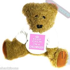 Childminder Novelty Gift Teddy Bear