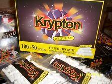 18 Bolsas Filtros  para hacer cigarrillos, fumar, 8mm.KRYPTON 150 BOQUILLAS