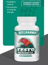 TESTO POWERFUL 100 TAB SUPPLEMENT ANABOLIC NATURAL  ROOSTERS/GALLOS - EXP 06/23