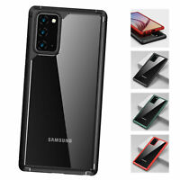 For Samsung Galaxy Note 20 Ultra/S20 Plus Hybrid TPU+PC Shockproof Clear Case