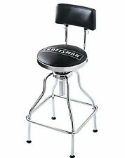 Craftsman Work Shop Counter Stool Black Adjustable Hydraulic Seat BRAND NEW
