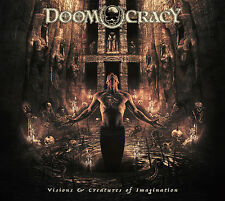 Doomocracy-Visions &Creatures Of Imagination CD Candlemass,Memento Mori,Solitude