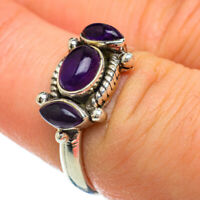 Amethyst 925 Sterling Silver Ring Size 7.25 Ana Co Jewelry R48238F