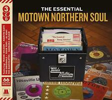 The Essential Motown Northern Soul 3 CD Various Artists - Release 2018