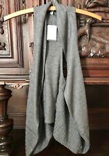 Delias NWT Shrug Sweater Vest Gray Cecily Size XS