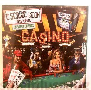 Escape Room das Spiel Erweiterung Casino Noris NEU