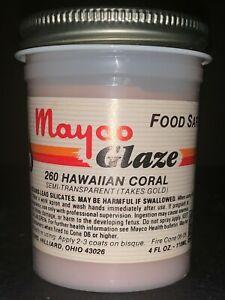 Mayco Discontinued RARE Brush-On Glaze Semi-Trans. cone 06 Variety Colors 4 oz.