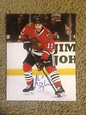 Andrew Desjardins Autographed 8x10 Photo Chicago Blackhawks Sharks Canada
