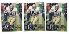 Lot of 4 1993 Classic 4 sport Jerome Bettis Rookie RC #100 steelers
