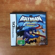 Nintendo DS Game - Batman the Brave & the Bold The Video Game - Excellent