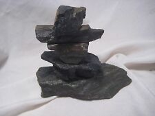 "NORTHWEST COAST INUIT ""INUKSHUK"" SCULPTURE, WITH ORIGINAL PAPERWORK,   CO Z-450E"