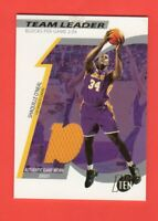 2002-03 Topps Ten Team Leader Relics # TL-SO Shaquille O'Neal 0223/1500 Mint