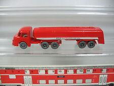 AP391-0,5# Wiking H0 Nr. 79 Tankwagen/LKW Henschel HS 190 S Esso Extra Motor Oil