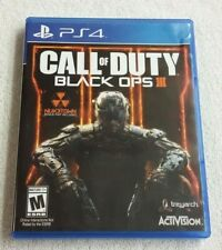 Call of Duty: Black Ops III (SONY PlayStation 4,2015) PS4 Complete game VG