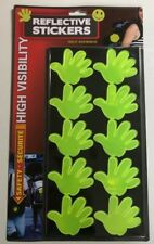 High Visibility Stickers Highly Reflective Bike Adhesive Hands Design Stickers