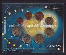 France 2004 Série de 8 pièces Neuves sous blister cartonné
