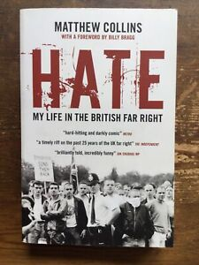 Hate My Life In The British Far Right 1980s Skinhead Boot Boy Hooligan Book