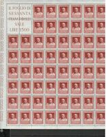 S22204) Italia 1957 MNH Nuevo Cicero 1v Hoja No Doblado