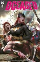 DCEASED #6 INHYUK LEE VARIANT NM BATGIRL HARLEY QUINN WONDER WOMAN ZOMBIE BATMAN