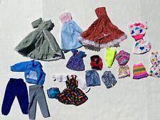 Barbie Ken Doll Clothes Dresses Clothes Lot Vintage 80s