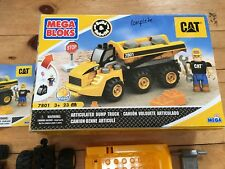 Mega Bloks 7801 CAT Articulated Dump Truck Complete in Box