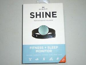 Misfit Shine SHOAZ Activity Fitness and Sleep Monitor Topaz - NEW.