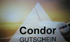 Condor Flug Gutschein Reisegutschein Voucher Wert 108 Euro - BLITZVERSAND