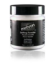 Mehron Setting Powder Soft Beige Professional Stage Makeup Anti Perspirant 28gm