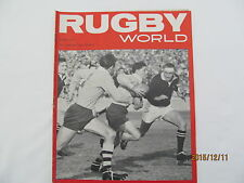 Rugby Union Magazine--Rugby World August 1965.