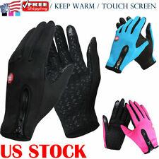 Winter Men Women Touch Screen Windproof Waterproof Outdoor Sport Driving Gloves