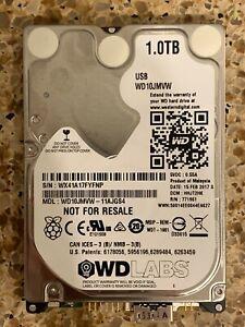 """Western Digital Labs 1TB mUSB 3.0 External 2.5"""" 9mm HDD - Bare Drive (WD10JMVW)"""