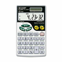 Sharp EL-344RB Basic Calculator 10-Digit LCD