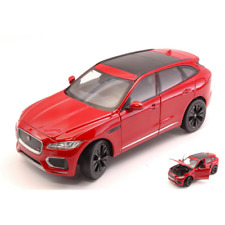 JAGUAR F-PACE (X761) 2016 RED 1:24 Welly Auto Stradali Die Cast Modellino