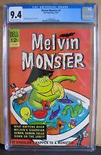 Melvin Monster No. 2 CGC 9.4 1965 JOHN STANLEY STORY , COVER & ART