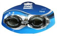 Zoggs active nova black swimming goggles