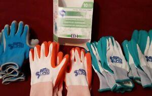 10 Pairs Garden yard work gloves,