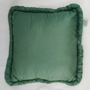 Discontinued Vintage Croscill Granada Green Decorative Bed Pillow