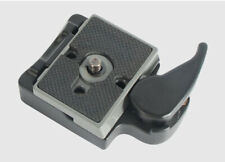 BEXIN Quick Release Clamp Adapter set For Manfrotto 200PL-14 496RC 498RC2 804RC2