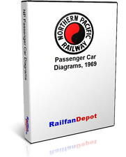 Northern Pacific Passenger Car Diagrams - PDF on CD - RailfanDepot