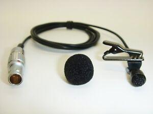 Trantec Lemo 4 Radio Transmitter Professional Lavaliere Lapel Clip On Microphone