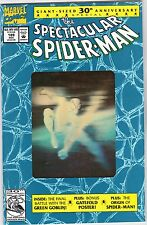 SPECTACULAR SPIDER-MAN #189 HOLOGRAM COVER UNREAD #42443 BR2