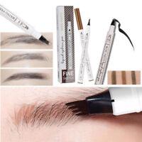 Microblading Makeup Eyebrow Tattoo Pen Fork Tip Eye Brow Pencil Ink Pen
