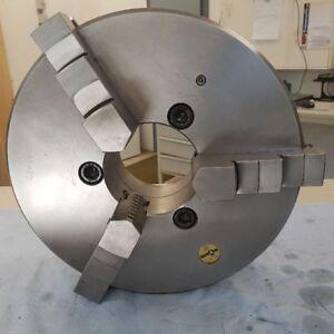 Dreibackenfutter,RÖHM,315mm,Planspiral-Spannfutter,Aufnahme-KK6,Bohrbacken