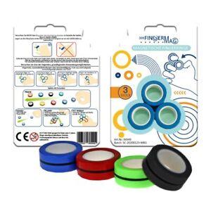 FingerMag - Magnetische Fingerringe - Spiel - 3er Set