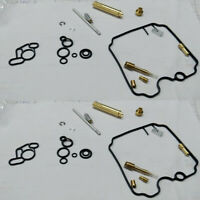 For 1989-1997 Yamaha XTZ750 Super Tenere Carburetor Repair Rebuild kit 2 Sets