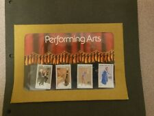 Australia 1977 Performing Arts Post Office Pack Stamps