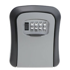 4.5'' Home OUTDOOR KEYS SAFE BOX Combination Security Lock Wall Mount Holder