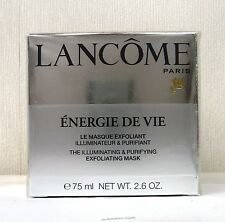 LANCOME Energie De Vie The Illuminating & Purifying Exfoliating Mask BNIB SEALED