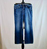 American Eagle Women's Original Boot Stretch Medium Wash Jeans - Size 4 Short
